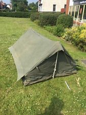 French army F1 F2 commando tent with poles and pegs