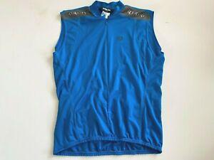 IQ Pearl Izimi Shirt Men's XL Sleeveless Cycling Mock Neck Activewear
