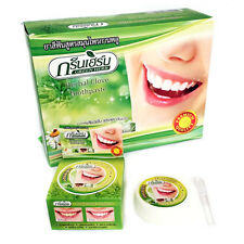 Natural Herbal Clove Toothpaste Whitening Teeth Remove Black Yellow Stains