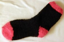 Socks Multi-Color Super Fluffy Warm Cozy Fuzzy, Long Crew Size: 9-11