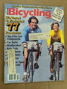 Bicycling Magazine October 1982 M398