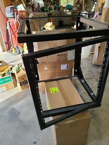 Open Frame Swing Out Wall Mount Server Rack- 12U