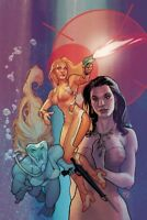 CHARLIES ANGELS #2 1:20 ROUX VIRGIN VARIANT COVER E  DYNAMITE LAYMAN 112118
