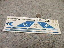 Revell Kikoler Brazil decals 1/144 H-247 Boeing 727 Astrojet Cruzeiro RARE   N74