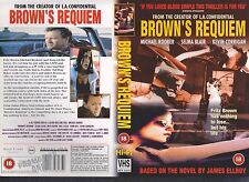 Brown's Requiem, Michael Rooker  Video Promo Sample Sleeve/Cover #9840