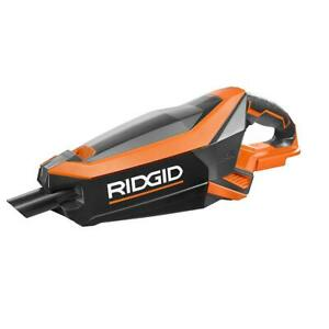 RIDGID GEN5X Cordless Brushless Vacuum 18 Volt Tool Only W Nozzle Extention