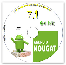 Android 7.1 Nougat Live DVD 64 bit Complete Operating Systems