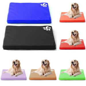 Waterproof Washable Cat Dog Bed Pet Mattress Kennel Cushion Mat Crate Cage Pad