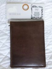 Marks and Spencer Leather Slim Wallets for Men