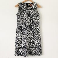 Tory Burch Black White Meryl Dress size 8