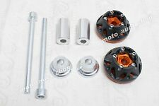 Kawasaki Z1000 Z 1000 10-12 Frame Sliders Crash Pads - Orange Color #E5-010