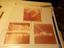VINT COLOR SNAPSHOT PHOTO LOT, STREAKS OF LIGHTS, ABSTRACT
