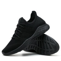 Men's Tennis Shoes Athletic Sneakers Breathable Running Sports Shoes Big Size US