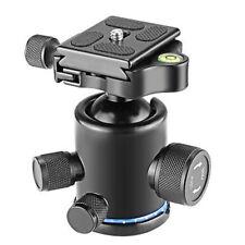 Mini 360 Rotate Camera Camcorder Tripod Monopod Ball Head Quick Release Plate