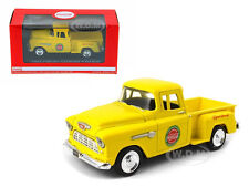 1955 CHEVROLET PICKUP TRUCK STEPSIDE COCA COLA YELLOW 1/43 MODEL BY MCC 430001