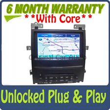 UNLOCKED Cadillac Escalade Navigation GPS Mp3 CD Player AUX USB