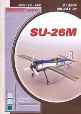 Hobby Modell 81- Suchoi Su-26M russ. einsitziges Sportflugzeug   1:33