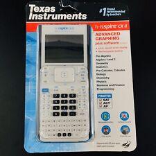 New Texas Instruments Ti-nspire CX II - Advanced Graphing Calculator - White