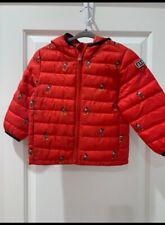NEW GAP Disney Mickey Mouse light weight Puffer Jacket Coat 3T cold control NWT