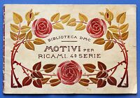 Moda Ricamo - Biblioteca DMC - Motivi per ricami - 4^ serie