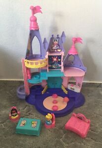 💕 Fisher Price Little People Schloss Märchenschloss Cinderella Sound Disney
