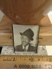 African american male  photobooth photo