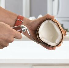 Coconut Meat Removal Tool - Easily Removes Flesh from Shell in Seconds
