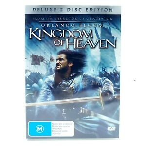 Kingdom of Heaven (DVD, Region 4, 2005) Deluxe 2-Disc Edition