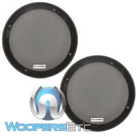 "GLADEN GI165 6.5"" SPEAKER COAXIAL COMPONENT PROTECTIVE GRILLS COVERS PAIR NEW"