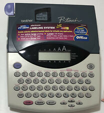 Brother P Touch Pt 1800 Electronic Labeling System With Users Manual