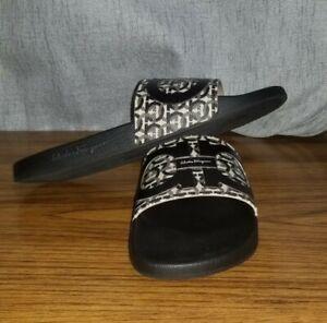Salvatore Ferragamo Men's Gancini Slide Sandals Size US 12