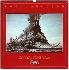 RODNEY MATTHEWS 1986 DODECAHEDRON calendar,  great condition, Heavy Metal Hero