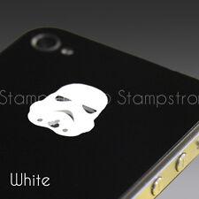 Starwars Stormtrooper Apple Logo Skin Sticker Decal for iPhone 4S 5 5C 5S 6 PLUS