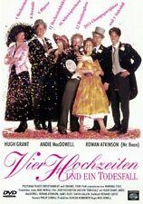 Vier Hochzeiten und ein Todesfall ( Kult Komödie) Hugh Grant, Rowan Atkinson NEU
