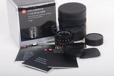 Leica 28mm/2.8 Elmarit-M Asph. Black Lens 6 Bit OVP Germany 4037133