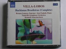 4756 Villa-Lobos: Bachianas Brasileiras Complete Schermerhorn *EX-LIBRARY* 3x CD