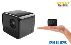 Philips PPX120 PicoPix Nano LED WiFi Mini Home Cinema Portable Pocket Projector