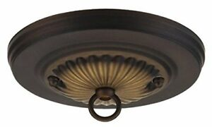 """Westinghouse 7005000 5"""" Oil Rubbed Bronze Traditional Canopy Kit"""