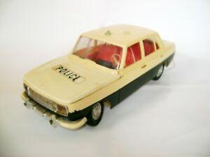 PIKO Anker Spielzeug Plastic toy car  Wartburg 353 Polizei Police 1/12 (GDR)
