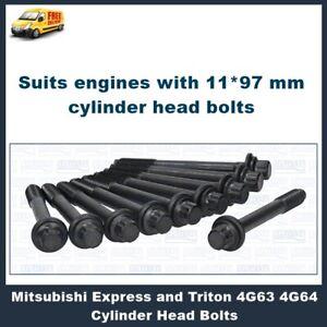 Cylinder Head Bolts Mitsubishi Express Triton Lancer 4G63 4G64 4G69