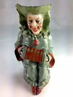 Antique Rare Schafer & Vater Whimsical Clown Germany Creamer Pitcher