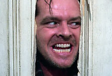 """Framed Print - Jack Nicholson """"Here's Johnny"""" from Psycho (Picture Poster Art)"""
