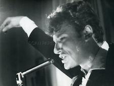 JOHNNY HALLYDAY 60s VINTAGE PHOTO ORIGINAL #32