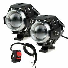 PROZOR MY087 15W Phare LED Avant pour Moto (2 Pièces)