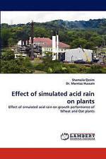 Effect of simulated acid rain on plants: Effect of simulated acid rain on growth