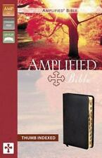 Amplified Bible by Zondervan Staff /  Thumb Index: New In Sleeve