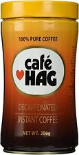 Elite Cafe HAG Decaffeinated Instant Coffee 200 gr 7 oz Espresso 100% Pure New