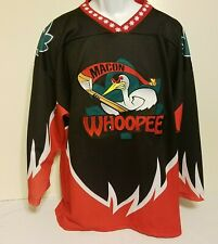 Macon Whoopee Jersey Hockey ECHL East Coast Hockey League Mens XL HTF