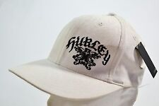 Hurley SEVEN White Paisley Black Embroider Logo Baseball Cap Discount Men's Hat