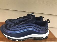 Nike Air Max 97 Men's Sneakers Shoes Obsidian Blue White 921826-402 Size 11.5